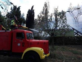 požar, Zagorič