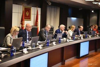 Vlada Crne Gore, sjednica Vlade