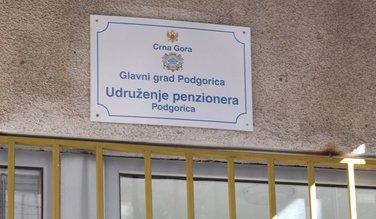 Udruženje penzionera Podgorica