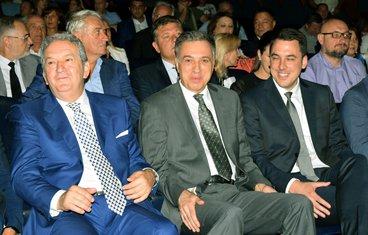 Miomir Mugoša, Filip Vujanović, Ivan Vuković