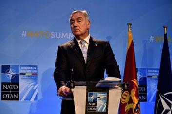 Milo Đukanović NATO samit