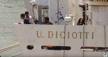 Migranti, Italija