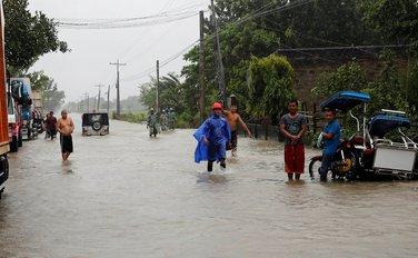 tajfun Mangkut, tajfun Filipini