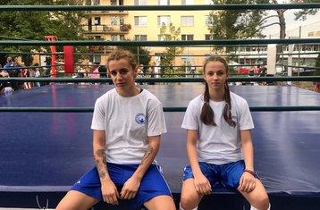Tamara Radunović i Bojana Gojković