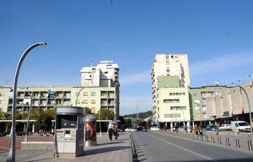 Podgorica, centar grada, ulica Slobode