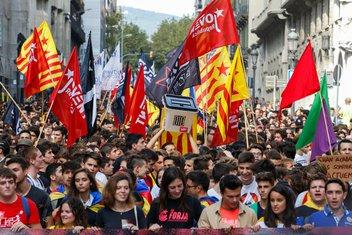 Barselona, demonstracije