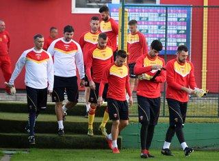 Crna Gora, trening