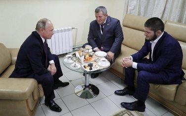 Vladmir Putin, Habib Nurmagomedov