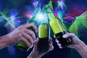 Pivo, žurka