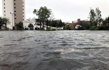 Uragan Florens, Sjeverna Karolina