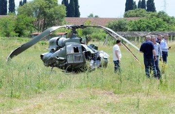 Vojni helikopter pad