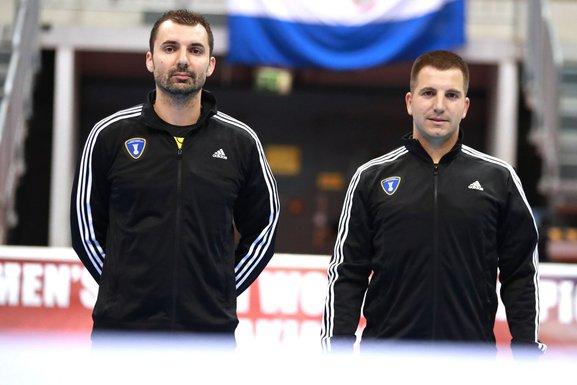 Miloš Ražnatović i Ivan Pavićević
