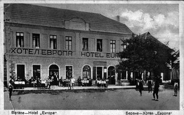 U centru Berana bila četiri hotela i dva hana