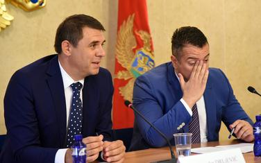Vlada posvećena integracijama: Drljević (lijevo)