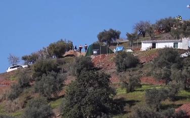 Mjesto blizu Malage gdje je nestao dječak