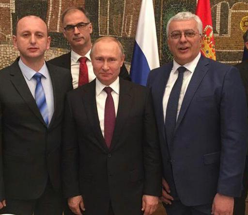 Lideri DF-a sa Putinom