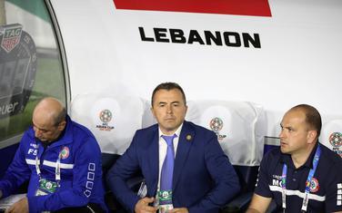 Miodrag Radulović na klupi Libana