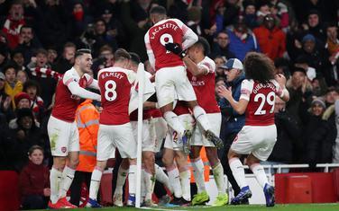 Slavlje igrača Arsenala
