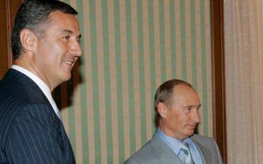Đukanović i Putin u Sočiju