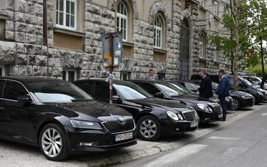 Službena vozila Vlade i parlamenta