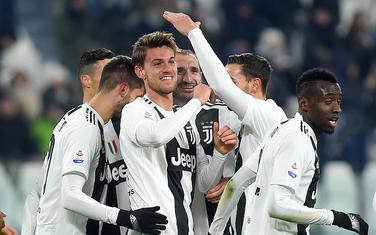 Slavlje fudbalera Juventusa