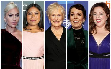 Glumice nominovane za Oskara: Lejdi Gaga, Jalicija Aparisio, Glen Klouz, Olivia Kolman i Melisa Mekarti