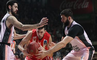 Bojan Dubljević na večerašnjoj utakmici u Beogradu