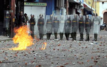 Sa protesta protiv Madura