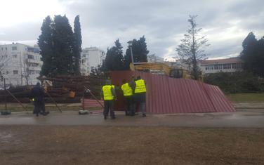 Danas na gradilištu