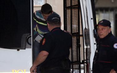 Milan Dinić nakon hapšenja