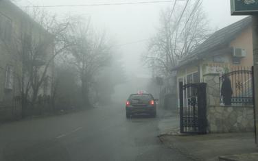Magla i smog česta pojava: Pljevlja