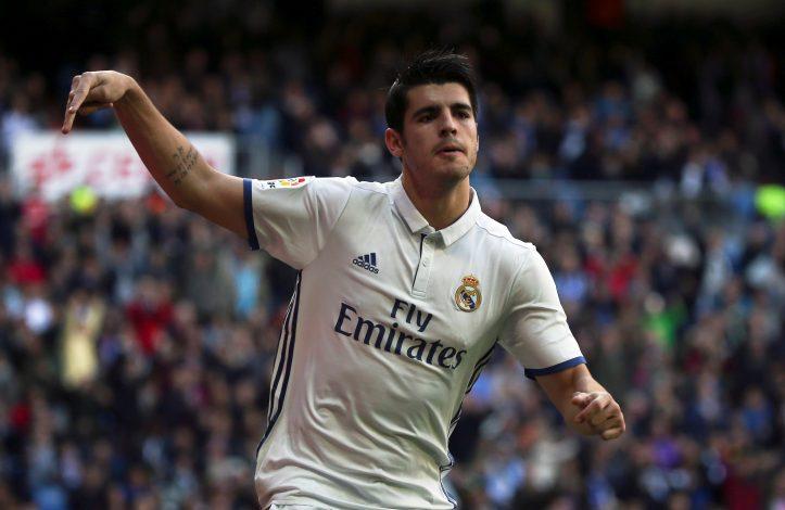 Alvaro Morata u dresu Reala
