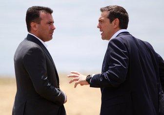 Zoran Zaev, Aleksis Cipras
