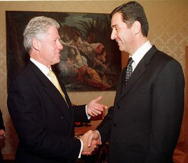 Bil Klinton, Milo Đukanović
