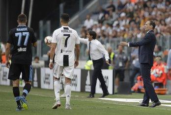 Adam Marušić Kristijano Ronaldo Juventus - Lacio