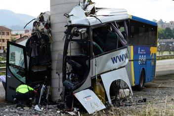 španija autobus, španija saobraćajna nesreća