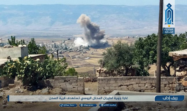 Rusija, bombardovanje, Idlib, Sirija