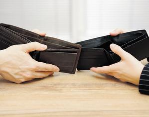 Lični stečaj, novčanik, novac,