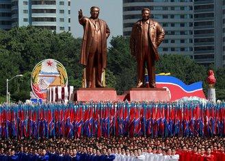 parada pjongjang