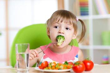 šećer, dijete, povrće