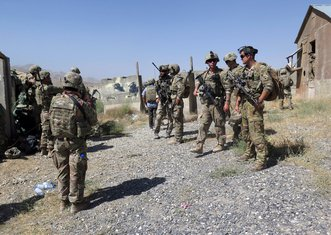 Avganistanska i američka vojska