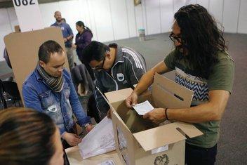 Kolumbija, referendum