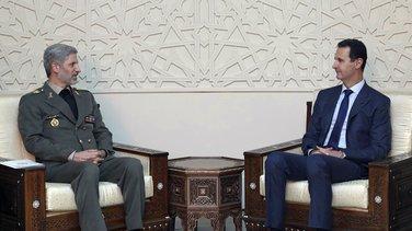Bašar al Asad, Amir Hatami