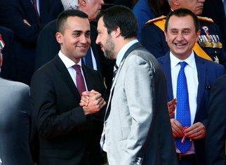 Luiđi di Majo, Mateo Salvini