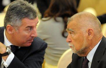 Milo Đukanović, Stjepan Mesić