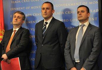 Mevludin Nuhodžić, Vesko Damjanović, Enes Baković