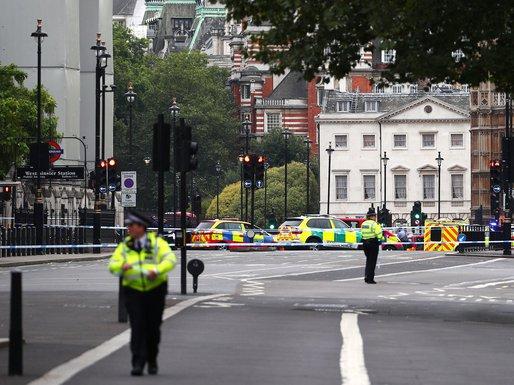 Policija, britanski parlament