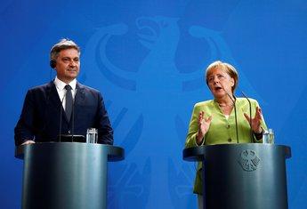 Denis Zvizdić, Angela Merkel