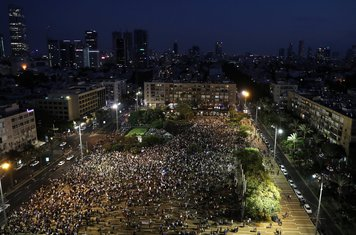 Izrael protest