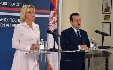 Marija Zaharova, Ivica Dačić